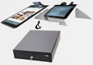 Poynt Smart Terminal ( Wi-Fi ) + Star Micronics Cash Drawer Black